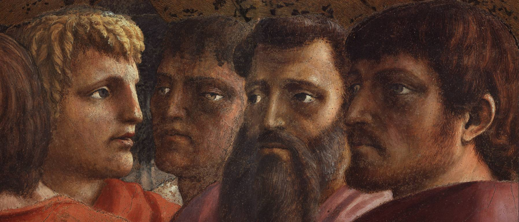 tribute money by masaccio The tribute money is one of many frescos painted by masaccio (and a lesser artist masolino) in the brancacci chapel all of the frescos tell the story of the life of st peter (considered to be the first pope) the story of the tribute money is told in three separate scenes within the same fresco.